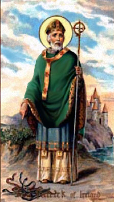 St Patrick's Day Greeting Card Template